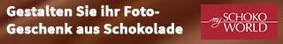 Fotogeschenke aus Schokolade bie Myschokoworld im Onlineshop